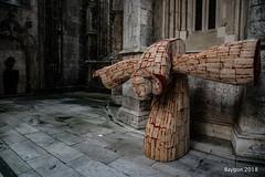 Sacrificio (ericbaygon) Tags: monastère monastery église bathala portugal art exhibition nikon d750 blood sang sculpture pierre stone artiste mircea roman sculptor sculpteur