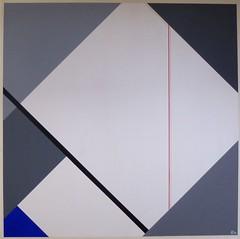 KONSTRUKTION GRAU  1985 (HolgerArt) Tags: konstruktivismus gemälde kunst art acryl painting malerei farben abstrakt modern grafisch konstruktiv