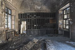 Manicomio di R (Sean M Richardson) Tags: abandoned asylum italia fire decay details texture color light canon photography travel explore hospital manicomio architecture