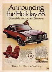 1978 Oldsmobile Holiday 88 Sport Coupe USA Original Magazine Advertisement (Darren Marlow) Tags: 1 7 8 9 19 78 1978 o olds oldsmobile h holiday 88 s sport c coupe car cool collectible collectors classic a automobile v vehicle u us usa united states american america g m gm general motors 70s