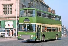 Eastern Scottish: LL138 (A138BSC) entering St Andrews Square from Edinburgh Bus Station (Mega Anorak) Tags: bus leyland olympian onlxb1r alexander easternscottish edinburgh