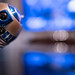 Day 15/365 - Observer (Pepe Soler Garcisànchez) Tags: r2d2 starwars robot droid android blue azul bokeh juguete toy 365 project365