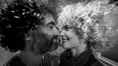"""What the hell...?"" special edition #2 (Hendrik Lohmann) Tags: streetphotography street streetportrait people portraits project duesseldorf nikondf wideangle blackandwhite monochrome curls bnw bw blackandwhiteportrait"
