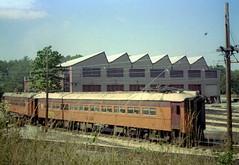 South Shore Michigan City yards 9-22-78 9 (jsmatlak) Tags: chicago south shore bend indiana line train electric railway interurban nictd mu