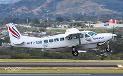 Sansa C208 TI-BGB (aleks_cal) Tags: sansa cessna caravan 208 c208 sanjose costarica puravida airport aviation avion plane takeoff