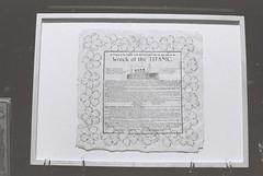 Wreck of the Titanic (goodfella2459) Tags: nikonf4 afnikkor50mmf14dlens ilforddelta3200 35mm blackandwhite film analog history titanic whitestarline sydney exhibition centrebyron kennedy hall bwfp
