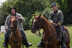 lombard civil war reenactment. july 2018 (timp37) Tags: lombard civil war reenactment july 2018 horseback horse horses illinois soldiers south