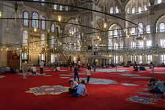 Fatih Mosque (djcotto1971) Tags: istanbul turkey bosphor europe asia mosque religion religious islam muslim constantinople carigrad nikon nikkor d5500 arch arches windows carpet camii mehmedtheconqueror ottoman sultan aliqushji byzantine church atik sinan medrese
