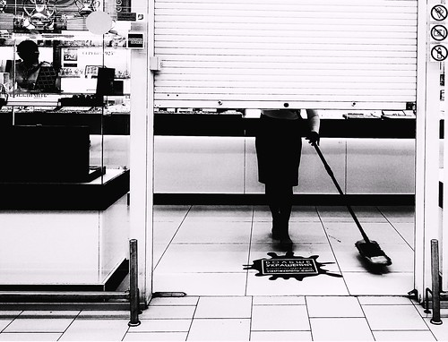 soon opening of shop ©  Sergei F