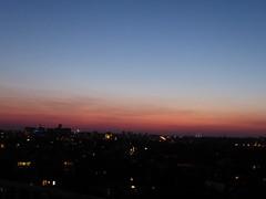 Mid-summer late dusk (seikinsou) Tags: brussels belgium bruxelles belgique summer dusk golden pink sky midsummer