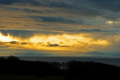 Morning glory (L@nce (ランス)) Tags: sunrise clouds cloudy juandefuca salishsea pacific ocean victoria jamesbay hollandpoint canada nikkor nikon
