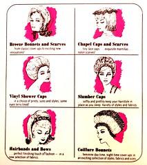Vintage Tip-Top Smart Hairdo Toppers - 1960s (hmdavid) Tags: vintage package design midcentury art illustration tiptop hair beauty hairdo toppers product insert 1960s