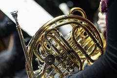 Trompa (Guillermo Relaño) Tags: camerata musicalis orquesta coro teatro fauré requiem guillermorelaño nikon d90 apolo especial ¿porquéesespecial orchestra ensayo trompa