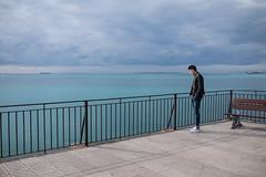 Into the void (Francesco Giusto) Tags: taranto fuji tarantovecchia look looking void mood water italy empty space