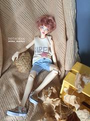 Little Monica Doll (Mimo_Marina) Tags: bjd bjdboy bjddoll boy boxoppening rabbit siren mermaiddoll mermaid kpop korean koreanstyle koreanboy koreanfashion littlemonica littlesophia littleprince clothers doll artbjd artdoll arttoy