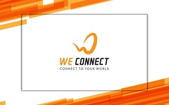 We Connect (nayemahmed18) Tags: logo custom business brand identity branding minimal r drawing text round shape e commerce internet broadband network