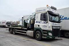 DSC_0006 (richellis1978) Tags: truck lorry cannock haulage transport logistics daf cf crane hiab dcs sk65dna