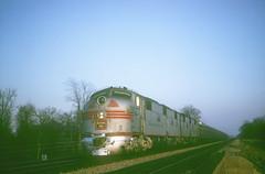 CB&Q E7 9921A (Chuck Zeiler52) Tags: cbq e7 burlington railroad emd locomotive naperville train chuckzeiler chz 9921a