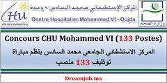 Concours CHU Mohammed VI (133 Postes) (dreamjobma) Tags: 112018 a la une chu oujda emploi et recrutement public facebook linkedin médecine infirmerie