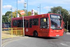 GAL 166 @ Orpington train station (ianjpoole) Tags: goahead london metrobus alexander dennis enviro 200 yx61enh 166 working route r1 high street green grovelands road st pauls cray