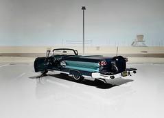 1958 Pontiac Bonneville Convertible - The Danbury Mint 1:24 (BlueAtlantic38) Tags: pontiac bonneville v8 124 hobby americancar convertible poncho tripower 1958 thedanburymint scalemodel
