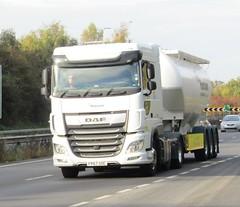 Hanson FP67 SOC on the A5 at Shrewsbury (Joshhowells27) Tags: lorry daf xf dafxf hanson fp67soc
