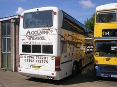 YN51 XMW - Howletts (quicksilver coaches) Tags: neoplan n122 skyliner howletts acclaimtravel winslow yn51xmw