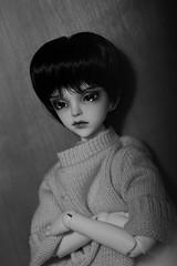 Thomas ♥ (Loony-Doll) Tags: dolladore glen dolladoreglen bjd doll dolls msd boy bjdboy custo custom makeup wig acryliques glass eyes