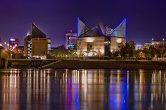 City of Chattanooga, Hamilton County, Tennessee, USA (Photographer South Florida) Tags: chattanooga tennessee tennesseeaquarium downtown skyline reflection tennesseeriver building longexposure metropolis hamiltoncounty volunteerstate usa cityscape city urban density skyscraper highrise architecture centralbusinessdistrict easttennessee cosmopolitan metropolitan metro commercialproperty realestate tallbuilding commercialdistrict commercialoffice residential condominium chattanoogachoochoo