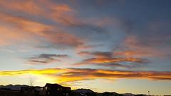 November 18, 2018 - Beautiful sunset skies. (David Canfield)