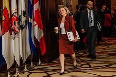 Premier/première ministre Notley at the First Ministers' Meeting/à la Rencontre des premiers ministres