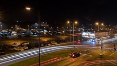 Rostock bei Nacht (Zarner01) Tags: rostock mecklenburg vorpommern deutschland germany hansestadt 2018 langzeitbelichtung canon eos 80d efs ef sigma 1750 f28 os hsm nachtaufnahmen lichtspuren