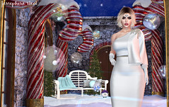 Candy Land (JarSephora) Tags: kr kenny rolands holliday dress gown snow white tres chic event besha poses sokat kawai nation figure8 figure 8 candy land cane courtyard backdrop gift ltd zephyr gerda gloves gach gacha imaginarium gimme dreaming thicket magic auras ward eye dream gladd music box 3rd bee designs christma christmas bennches rare catwa bento head maitreya lara mesh body mila demicorn truth hair bewkie group jama rama festival chunky amala vivian secondlife second life sl style fash