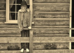 089 (3) Young Homesteader [Explored] (srypstra) Tags: heritageacres sherirypstra boy cowboy ranch homesteader saanichton