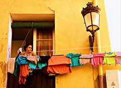 La colada (portalealba) Tags: zaragoza aragon españa spain portalealba fuji street calle