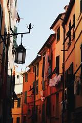 Portovenere street (Francisca Seixas) Tags: italy portovenere street city colours lamp streetphotography