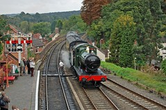 Bewdley (paul_braybrook) Tags: gwr greatwestern bewdley severnvalleyrailway steamlocomotive railwaystation heritage semaphores signals trains