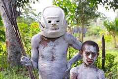 Grandfather and me (Jojje Olsson) Tags: png papuanewguinea asia pacific tribes tribal nature highlands mountains culture