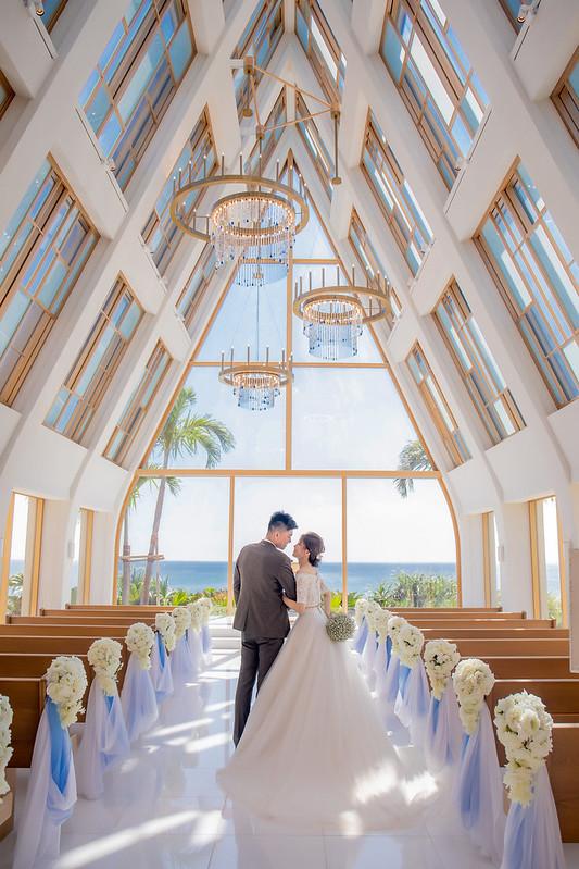 沖繩婚紗,沖繩教堂,婚紗攝影,海島婚禮,海外婚紗,美之教會