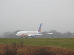 G-JZHK (S.G.J) Tags: lba leedsbradford airport plane aeroplane takeoff takingoff leeds bradford jet2 gjzhk