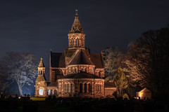 St Paul's Church, Hooton (Rob Pitt) Tags: stpaulschurch hooton canon 70200 f4 l sony a7rii wirral cheshire ellesmereport night photography