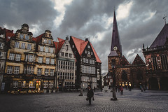 Bremen (petrovicka95) Tags: bremen germany city architecture building street photography travel tourist clouds europe natgeo november