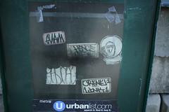 Guam, Hence, Bines, ?, Crene, Link (NJphotograffer) Tags: graffiti graff pennsylvania pa guam i2i crew hence cf bines sticker crene link