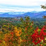 Saranac Lake   - New York - Mount Pisgah - Adirondack Mountains  - Autumn Colours thumbnail