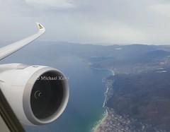 Ethiopian Airlines                             Airbus A350                               ET-AUA (Flame1958) Tags: ethiopianairlines ethiopian ethiopiana350 airbusa350 airbus a350 350 etaua cpt capetown southafrica et846 ethiopianair ethiopianairways 021117 1117 2017 myflightaircraft windowseat windowview