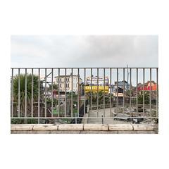 Magic City (John Pettigrew) Tags: view lines tamron d750 nikon space dusk lights topographics imanoot angles ordinary railings banal 2470mm deserted blocked johnpettigrew mundane documenting seaside