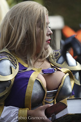 LUCCA COMICS & GAMES 2018 (fabiogis50) Tags: luccacomicsgames2018 cosplay cosplayer closeup cleavage boobs sexy portrait girl