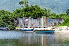 Rio de Palmas (Ivan Roberto Becher Machado) Tags: governadorcelsoramos cores barcos navegação areia brasil santacatarina mata reflexo