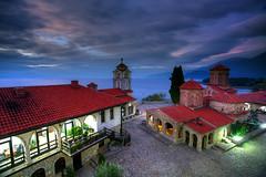 Ohrid Sunset (hapulcu) Tags: balkan fyrom herbst macedoine macedonia macedonie makedonien ohrid automne autumn autunno lake manastir monastery otoño toamna