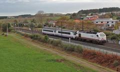 Oroso (Iago G. V.) Tags: arco at2000 334 334007 a coruña oroso santiagodecompostela ferrocarril glicia estacion ejeatlantico renfe convencional